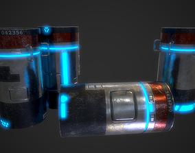 3D model SciFi Barrels