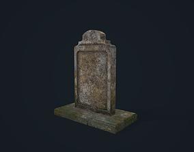Gravestone 3 3D model