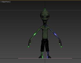 Alienigena extraterrestre criatura 3D model