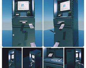 3D model ATM machines