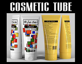 Cosmetic tube 04 bathroom 3D