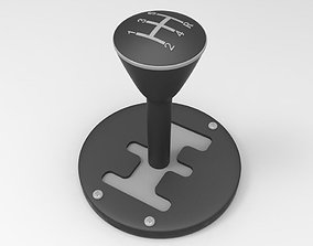 3D model Automatic Gear Selector Lever