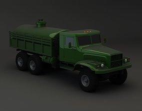 Truck KRAZ 255 B Tanker 2 3D model