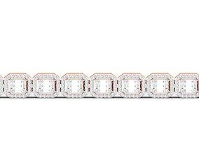 Women bracelet 3dm stl render detail jewellery bracelets