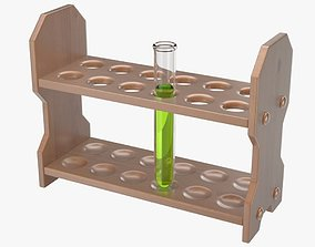 3D Test Tube Rack medical