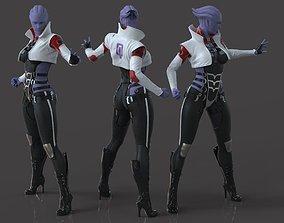 Aria TLoak - Mass Effect - Fan Art 3D print model