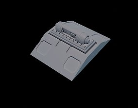 SciFi Nuclear Reactor stl 3D Printable Model