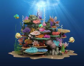 3D model Coral Reef02