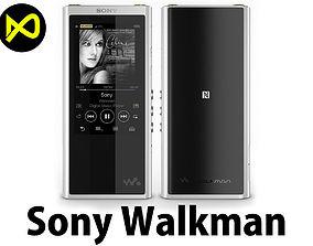 Sony Walkman NW-ZX300 MP3 Players 3D model