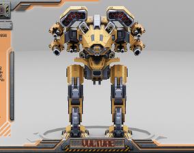 3D asset Vulture BattleMech