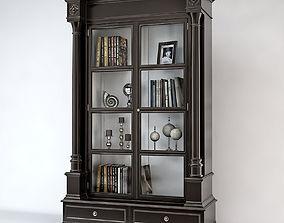 Eichholtz Cabinet Grillon Finition Noir 3D