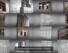 3D model Sideboards Bookshelves Collection