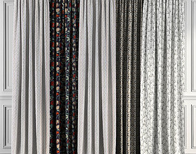 3D model Curtain Set 69