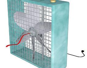 Box Fan FBX OBJ 3D model