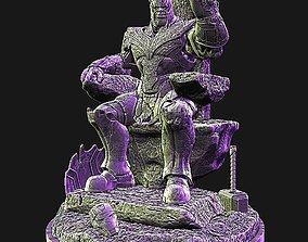 Thanos in throne 3D print model