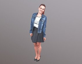 No52 - Lady Standing 3D model