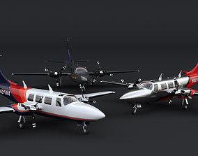 Piper Aerostar 700 3D