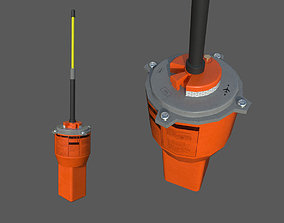 3D model Emergency aircraft radio beacon