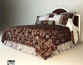 Savio Firmino Bed Eastern Textil 3D