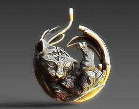 Tigra sleep MAGERIT replica 3D printable model