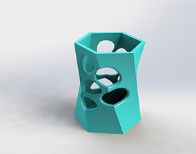 DEcorative Flower Pot 29 3D printable model