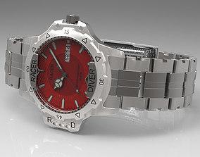 Racer Diver Watch 3D