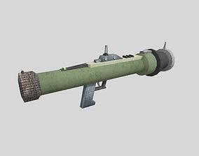 no brand low poly rocket launcher 3D model
