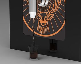 3D Jagermeister Shot Machine