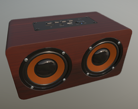 Bluetooth Speaker 3D asset low-poly