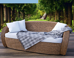 VARASCHIN Bolero Garden Sofa 3D model