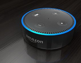 Amazon Echo Dot Gen 2 Alexa 3D model