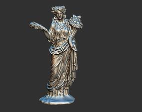 Demeter Mythology Greek Medusa Sirens Goddess Statue 3D