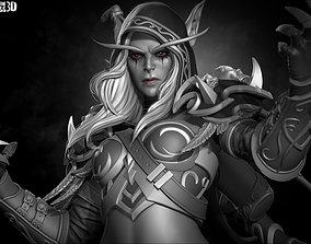 Sylvanas Windrunner - World of Warcraft 3D print model