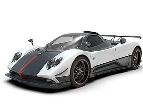 3D model Pagani Zonda Cinque Roadster