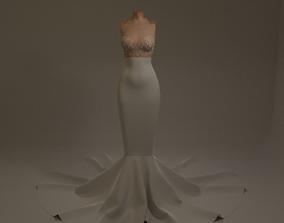 Ariel Dress 3D