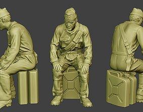 Italian Tank Crew Unit ww2 Sit ITCU1 3D printable model