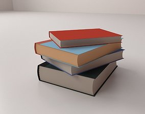 3D model Stack of Books
