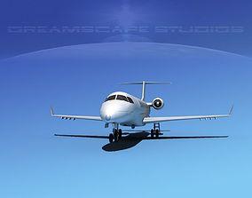 3D asset Embraer E-135 Regional Jet LP SS
