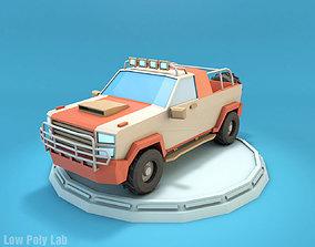 Cartoon Jeep SUV 3D model