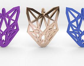 3D print model fox Fox Pendant