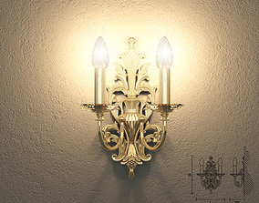 Masiero VE1073 A2 wall lamp 3D
