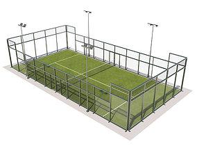 3D Padel Court