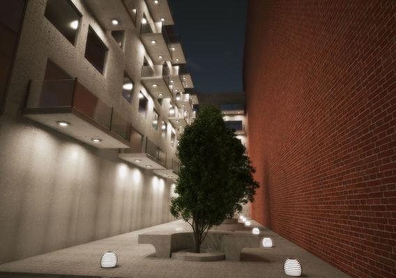 Communal living apartments