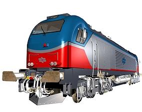 Vossloh Euro 4000 Locomotive 3D model