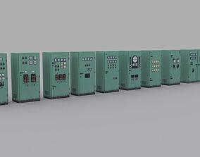 electrical-panels 3D asset