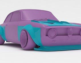 Alfa Romeo Giulia GTA KS wide body kit 3D print model