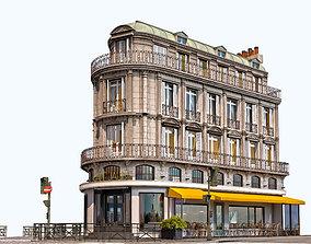 3D model Cafe Jaune - European Architecture
