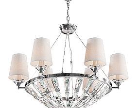 Maytoni Pantheon H021PL-06CH chandelier 3D model