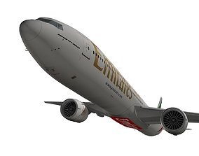 Boeing 777-300ER Emirates 3D