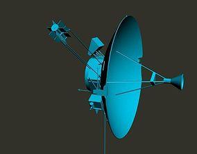 3D model radio satellite